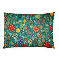 Ornaments Homemade Christmas Ornament Crafts Pillow Case (two Sides) by AnjaniArt