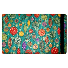 Ornaments Homemade Christmas Ornament Crafts Apple Ipad 2 Flip Case by AnjaniArt
