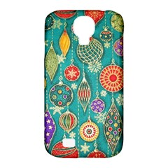 Ornaments Homemade Christmas Ornament Crafts Samsung Galaxy S4 Classic Hardshell Case (pc+silicone) by AnjaniArt