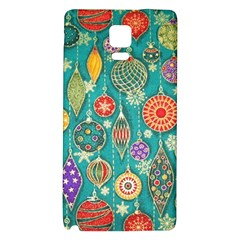 Ornaments Homemade Christmas Ornament Crafts Galaxy Note 4 Back Case by AnjaniArt