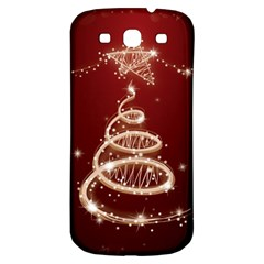 Shiny Christmas Tree Samsung Galaxy S3 S Iii Classic Hardshell Back Case