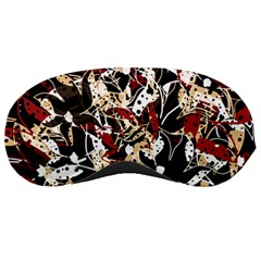 Abstract Floral Design Sleeping Masks by Valentinaart