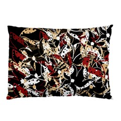 Abstract Floral Design Pillow Case (two Sides) by Valentinaart