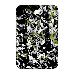 Green Floral Abstraction Samsung Galaxy Note 8 0 N5100 Hardshell Case  by Valentinaart