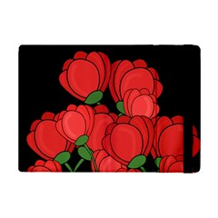 Red Tulips Ipad Mini 2 Flip Cases by Valentinaart