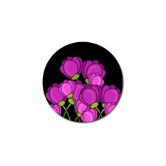 Purple Tulips Golf Ball Marker (10 Pack) by Valentinaart