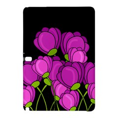 Purple Tulips Samsung Galaxy Tab Pro 10 1 Hardshell Case by Valentinaart