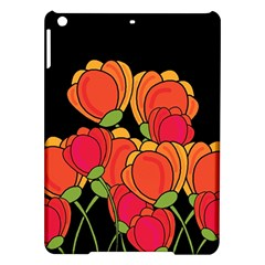 Orange Tulips Ipad Air Hardshell Cases by Valentinaart