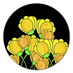 Yellow Tulips  by Valentinaart