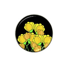 Yellow Tulips Hat Clip Ball Marker by Valentinaart