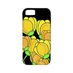 Yellow Tulips Apple Iphone 5 Classic Hardshell Case (pc+silicone) by Valentinaart