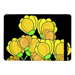 Yellow Tulips Samsung Galaxy Tab Pro 10 1  Flip Case by Valentinaart