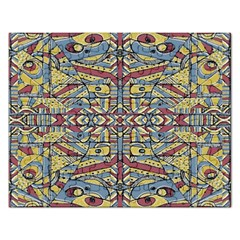 Multicolor Abstract Rectangular Jigsaw Puzzl by dflcprintsclothing