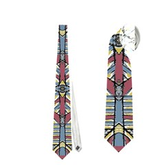 Multicolor Abstract Neckties (two Side)
