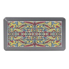 Multicolor Abstract Memory Card Reader (mini) by dflcprintsclothing