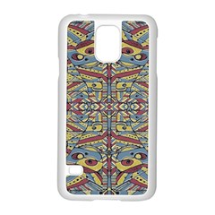Multicolor Abstract Samsung Galaxy S5 Case (white) by dflcprintsclothing