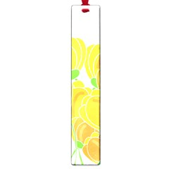 Yellow Flowers Large Book Marks by Valentinaart
