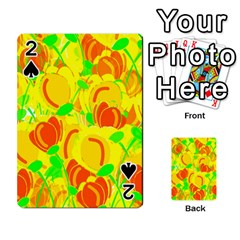 Yellow Garden Playing Cards 54 Designs