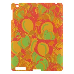Orange Garden Apple Ipad 3/4 Hardshell Case by Valentinaart