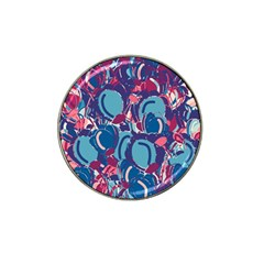 Blue Garden Hat Clip Ball Marker (4 Pack) by Valentinaart
