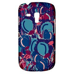 Blue Garden Samsung Galaxy S3 Mini I8190 Hardshell Case by Valentinaart