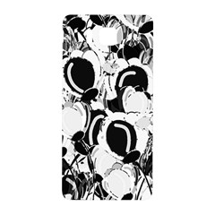 Black And White Garden Samsung Galaxy Alpha Hardshell Back Case