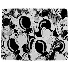 Black And White Garden Jigsaw Puzzle Photo Stand (rectangular) by Valentinaart