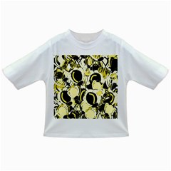 Yellow Abstract Garden Infant/toddler T Shirts by Valentinaart