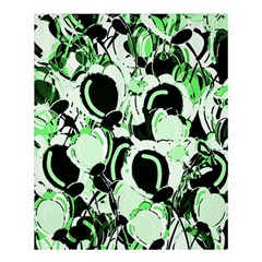 Green Abstract Garden Shower Curtain 60  X 72  (medium)  by Valentinaart