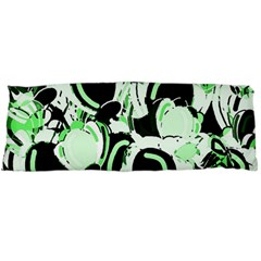 Green Abstract Garden Body Pillow Case (dakimakura)