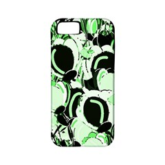 Green Abstract Garden Apple Iphone 5 Classic Hardshell Case (pc+silicone)