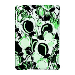 Green Abstract Garden Apple Ipad Mini Hardshell Case (compatible With Smart Cover) by Valentinaart