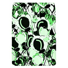 Green Abstract Garden Flap Covers (s)  by Valentinaart