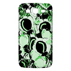Green Abstract Garden Samsung Galaxy Mega 5 8 I9152 Hardshell Case  by Valentinaart
