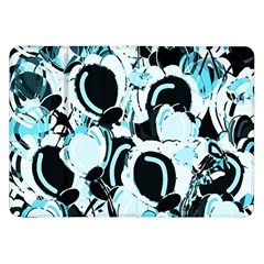 Blue Abstract  Garden Samsung Galaxy Tab 8 9  P7300 Flip Case by Valentinaart