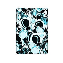 Blue Abstract  Garden Ipad Mini 2 Hardshell Cases by Valentinaart