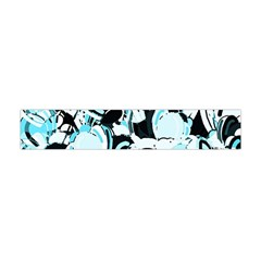 Blue Abstract  Garden Flano Scarf (mini) by Valentinaart