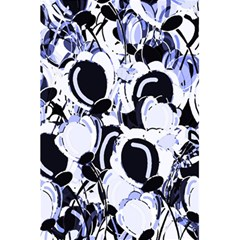 Blue Abstract Floral Design 5 5  X 8 5  Notebooks