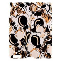 Orange Abstract Garden Apple Ipad 3/4 Hardshell Case