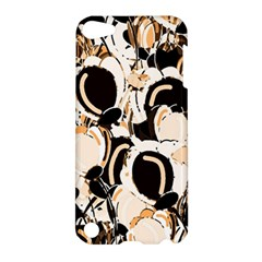 Orange Abstract Garden Apple Ipod Touch 5 Hardshell Case by Valentinaart