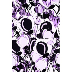 Purple Abstract Garden 5 5  X 8 5  Notebooks