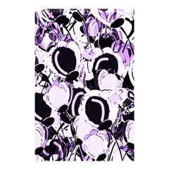 Purple Abstract Garden Shower Curtain 48  X 72  (small)  by Valentinaart