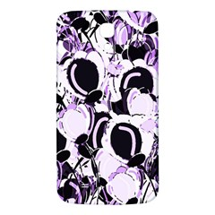 Purple Abstract Garden Samsung Galaxy Mega I9200 Hardshell Back Case by Valentinaart