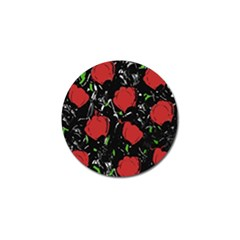 Red Roses Golf Ball Marker (10 Pack) by Valentinaart