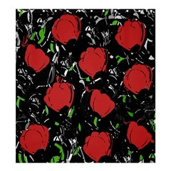 Red Roses Shower Curtain 66  X 72  (large)  by Valentinaart