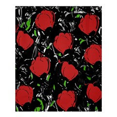Red Roses Shower Curtain 60  X 72  (medium)  by Valentinaart