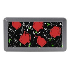 Red Roses Memory Card Reader (mini) by Valentinaart