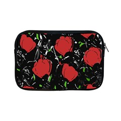 Red Roses Apple Ipad Mini Zipper Cases by Valentinaart