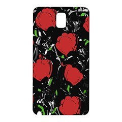Red Roses Samsung Galaxy Note 3 N9005 Hardshell Back Case by Valentinaart