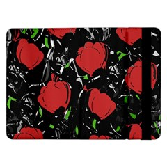 Red Roses Samsung Galaxy Tab Pro 12 2  Flip Case by Valentinaart
